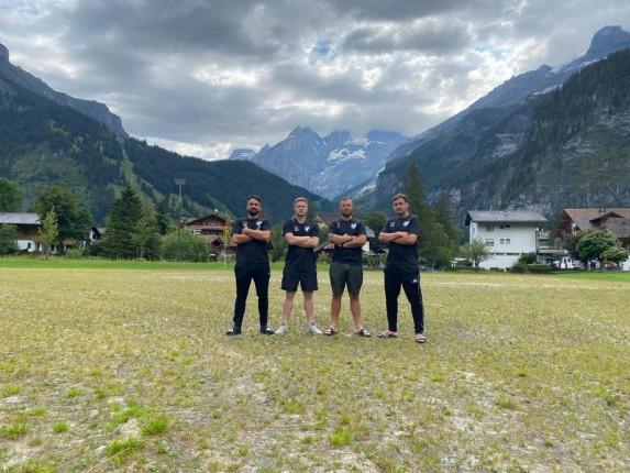 v.l.n.r.: Heiko, Fabian, Philipp, Robert